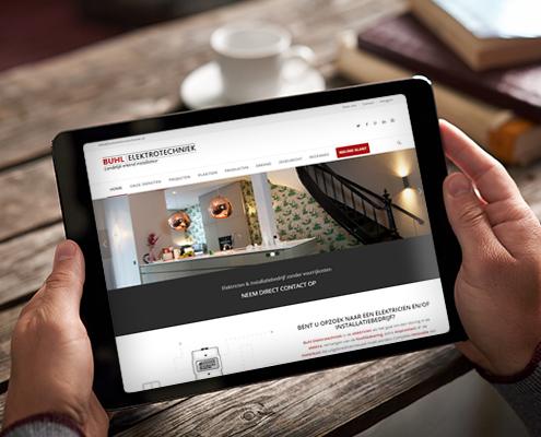Buhl Elektrotechniek - Webdesign & Development